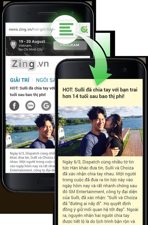 Cốc Cốc browser - surf web Vietnamese style